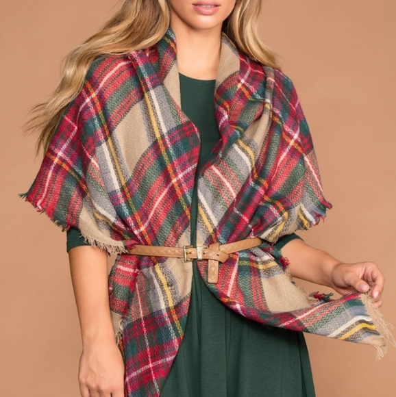 Accessories - COPY - Blanket scarf